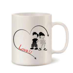 Love You Mug - Gift this Mug to your love on Birthday, Valentine, New Year 6 - Product GuruJi