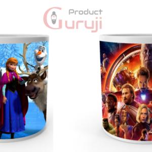 Avenger MUG spider man iron man lovely mug superhero mugs super man ceramic coffee milk Combo Cup 5 - Product GuruJi
