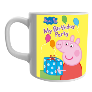 Buy Peppa Pig Cartoon Coffee Mug for Friends/Birthday Gifts 8 - Product GuruJi