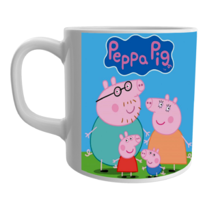 Buy Peppa Pig Cartoon Coffee/Tea Mug/Cup for Friends 3 - Product GuruJi