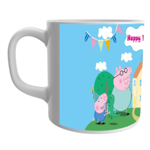 Peppa Pig- Birthday Party Special Coffee/Tea Mugs 5 - Product GuruJi