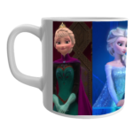 Frozen Elsa Anna White Ceramic Mug/Coffee 1 - Product GuruJi