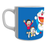Doraemon nobita friend quotes doraemon nobita printed ceramic white coffee mug for kids 2 - Product GuruJi