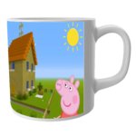 Buy Peppa Pig Cartoon Coffee Mug for kids 2 - Product GuruJi