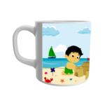 Best cartoon printed mug for the boys kids 2 - Product GuruJi