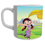 Chutki ,chhota bheem beautiful print on coffee mug for the kids 1 - Product GuruJi