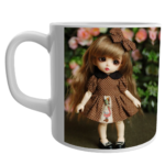 Barbie Doll coffee Mug, Barbie Doll Gifts, Barbie Dolls Birthday Items, Barbie White Ceramic Mug 1 - Product GuruJi