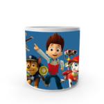 Paw patrol cartoon design mug for kids, Paw patrol printed coffee mug,white ceramic coffee mug for kids 2 - Product GuruJi