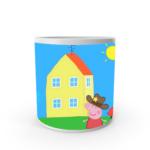 Peppa Pig Mugs, Peppa pig coffee Mug for Kids,White Ceramic Peppa Pig Coffee Mug, Gifts for Kids 1 - Product GuruJi