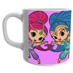 Shimmer and shine dolls Design Printed white Colour Coffee Ceramic Mug ,Shimmer and shine dolls Mugs, doll Gifts for Girls, Girls Birthday Items, Shimmer and shine dolls White Ceramic coffee Mug 1 - Product GuruJi
