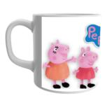 Peppa pig family cartoon coffee mug, Peppa pig toys ceramic mug for kids 2 - Product GuruJi