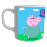 White Ceramic Peppa Pig Cartoon Coffee Mug for Friends/Birthday Gifts for Kids 2 - Product GuruJi