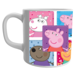 Peppa Pig Birthday Gifts, Peppa Pig Gift for Kids, Peppa Pig Ceramic White Coffee Mug For Kids 1 - Product GuruJi