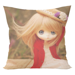 Doll cushion with cushion cover 8 - Product GuruJi