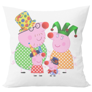 Peppa pig cushion with cushion cover 8 - Product GuruJi