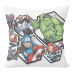 Avangers superheros cushion with cushion cover 2 - Product GuruJi
