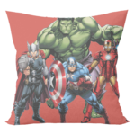 Marvel Super heroes hulk avengers Cushion with cushion cover 2 - Product GuruJi
