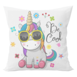 Unicorn cushion with cushion cover 2 - Product GuruJi