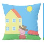 Peppa pig cartoon cusion with cushion cover 1 - Product GuruJi