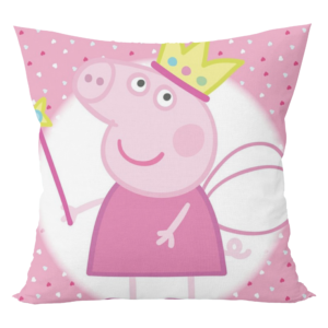 Peppa pig king cartoon cushion with cushion cover 4 - Product GuruJi