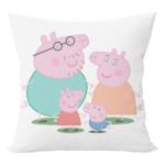 Cute peppa pig cartoon cushion with cushion cover 2 - Product GuruJi