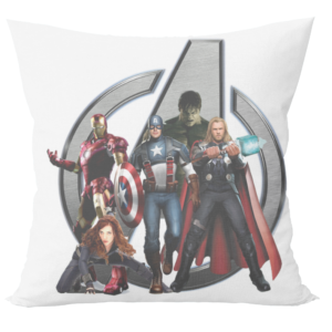 Avengers marvels superheros hulk cartoon cushion with cushion cover 11 - Product GuruJi