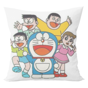 Doraemon nobita cartoon cushion with cushion cover 9 - Product GuruJi