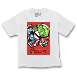 Avengers Superheros Cartoon Tshirt for Boys, Cartoon Tshirts for Kids… 3 - Product GuruJi