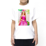Barbie Doll Cartoon Tshirt for girls, Cartoon Tshirts for girls… 2 - Product GuruJi