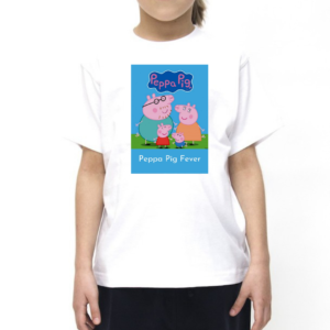 Peppa Pig Cartoon Tshirt for Girls, Cartoon Tshirts for Girls… 4 - Product GuruJi