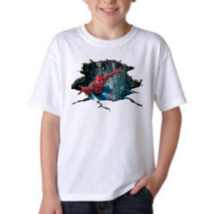Spidermen Cartoon Tshirt for Boys,Superhero Cartoon Tshirts for Kids… 8 - Product GuruJi