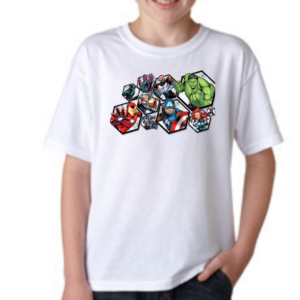 Avengers Cartoon Tshirt for Boys, Cartoon Tshirts for Kids… 3 - Product GuruJi