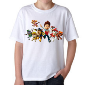 Paw Patrol Cartoon Tshirt for Boys, Cartoon Tshirts for Kids… 10 - Product GuruJi