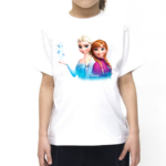 Doll Girls Cartoon Tshirt for Girls, Cartoon Tshirts for Girls.… 2 - Product GuruJi