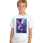 Marvel Avengers superhero cartoon Tshirt for Boys, Cartoon Tshirts for Kids. 2 - Product GuruJi