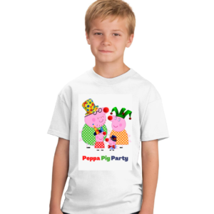 Peppa Pig  Party Cartoon Tshirt for Boys, Cartoon Tshirts for Kids… 5 - Product GuruJi