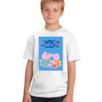 Peppa Pig Family Toons Tshirt for Girls/boys, Cartoon Tshirts for Kids… 1 - Product GuruJi