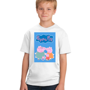 Peppa Pig Family Toons Tshirt for Girls/boys, Cartoon Tshirts for Kids… 7 - Product GuruJi