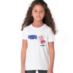 Peppa Pig King Cartoon Tshirt for Girls, Cartoon Tshirts for Girls… 1 - Product GuruJi