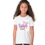 Lovely Princess Design Tshirt For Girls, Cartoon Tshirt For Girls.. 1 - Product GuruJi