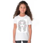 Sketch Design Tshirt For Girls, Cartoon Tshirt For Girls.. 1 - Product GuruJi