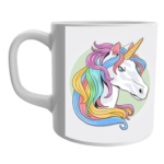 Product Guruji White Ceramic Unicorn toon Printed on Mug for Kids. 2 - Product GuruJi