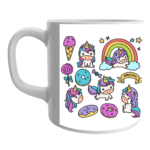 Product Guruji White Ceramic Unicorn Cartoon Print Coffee Mug for Kids/Children. 2 - Product GuruJi