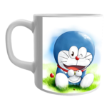 Product Guruji White Ceramic  Doraemon Cartoon Coffee Mug for Children. 1 - Product GuruJi