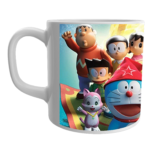 Product Guruji White Ceramic Doraemon/Nobita Cartoon on Mug for Kids/Children. 2 - Product GuruJi