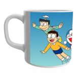 Product Guruji White Ceramic Doraemon/Nobita/Giyaan Toons on Mug for Kids 1 - Product GuruJi