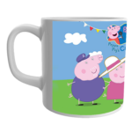 Product Guruji White Ceramic Peppa Pig Cartoon Coffee Mug for Friends/Birthday Gifts. 2 - Product GuruJi