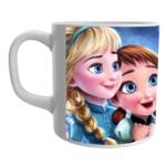 Product Guruji White Ceramic Barbie Doll Cartoon on Coffee Mug for Kids. 1 - Product GuruJi