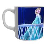 Product Guruji White Ceramic Elsa Frozen Doll Cartoon on Coffee Mug for Kids. 1 - Product GuruJi