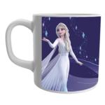 Product Guruji White Ceramic Elsa Frozen Doll Cartoon on Coffee Mug for Girls. 1 - Product GuruJi